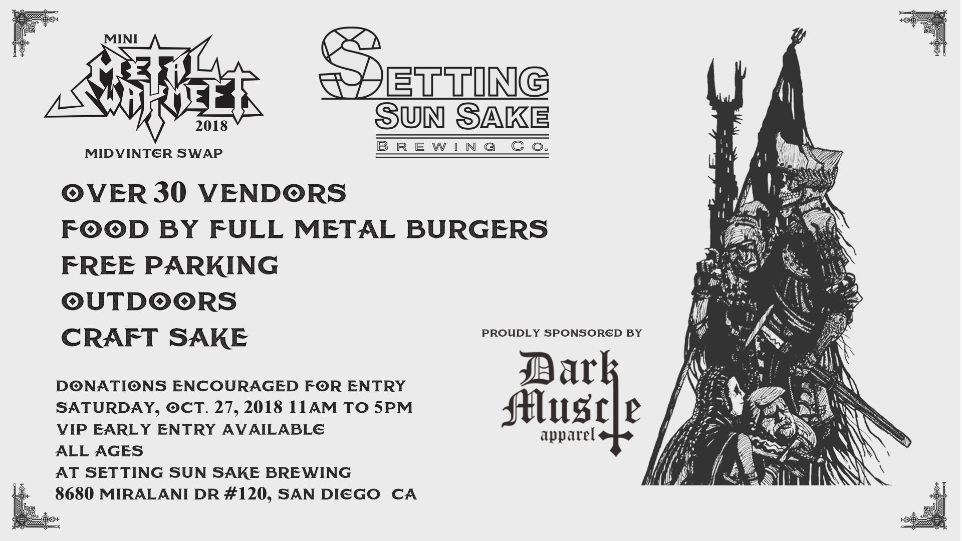 Metal Swap Meet 2018 flyer